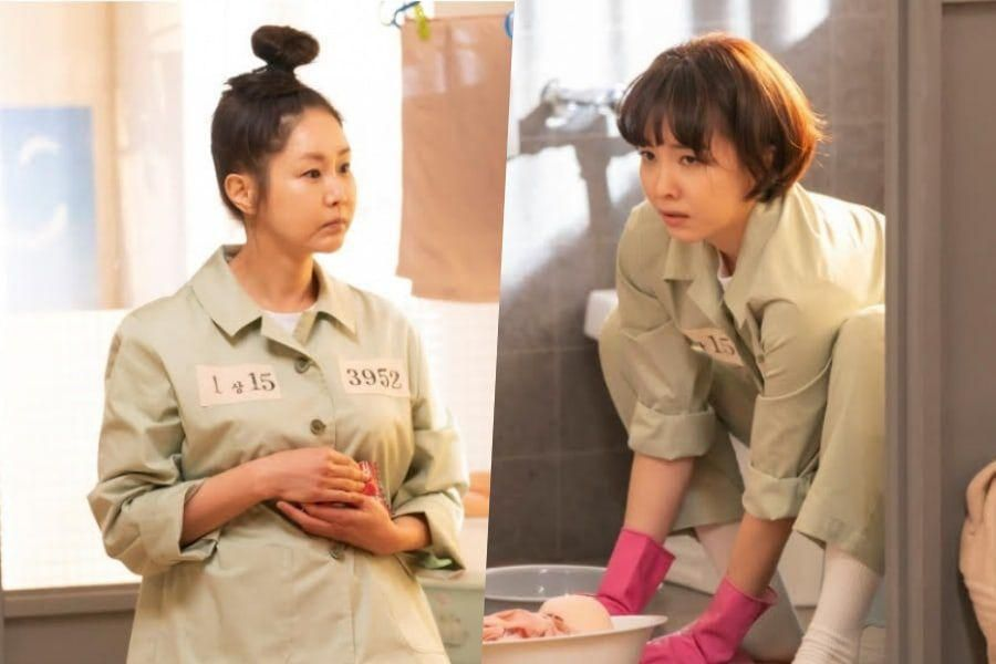 """Shin Eun Kyung And Yoon Joo Hee Bicker As They Adjust To Prison Life In """"The Penthouse 3"""""""