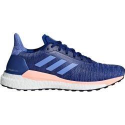Photo of Adidas women's running shoes Solar Glide, size 42? in dark blue / light blue / white / pastel orange / black, G
