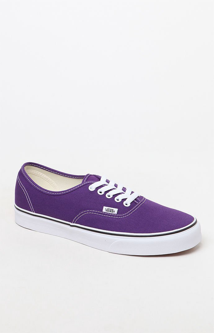 bc6d28a7887e7 Vans Authentic Purple Shoes - Mens 9 | Products | Vans authentic ...