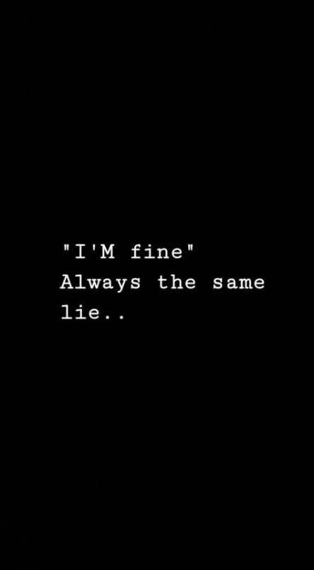 Best Quotes Sad Broken Im Fine Ideas