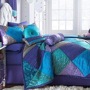 Seventeen Bedding Jcpenney Seventeen Crystal Violet Bedskirt