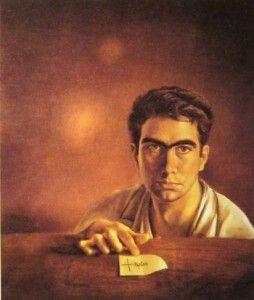 Antonio tapies autorretrato