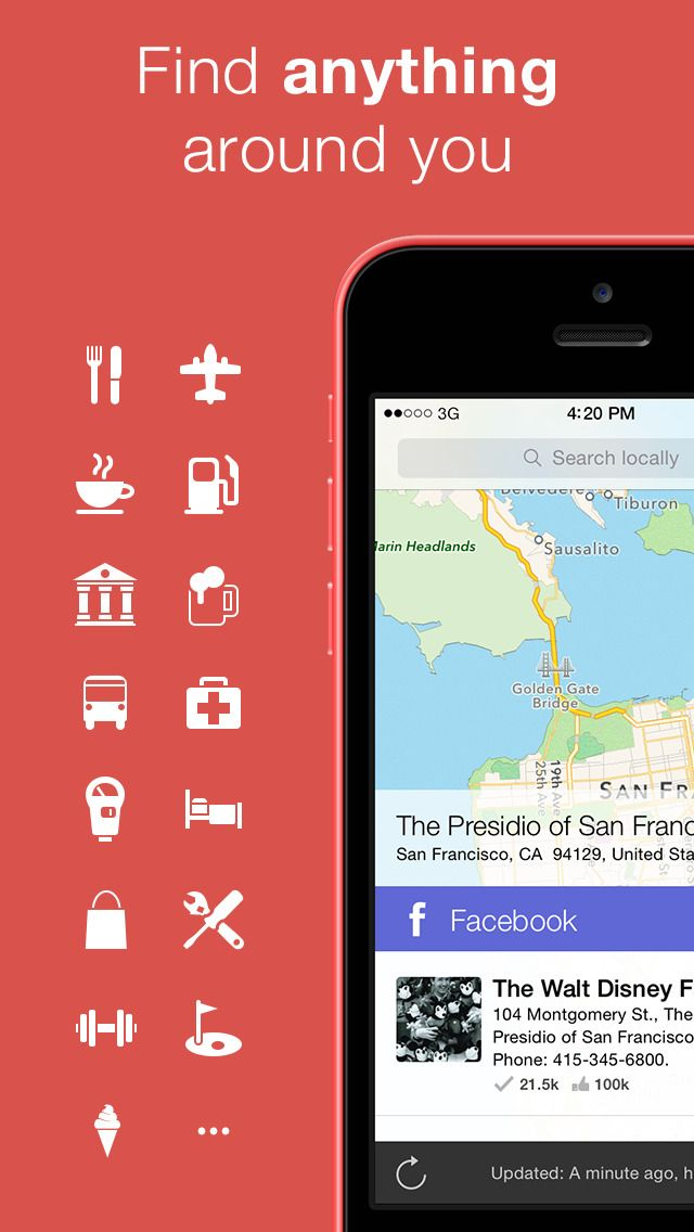 Localscope Find places and people around you app detail & reviews