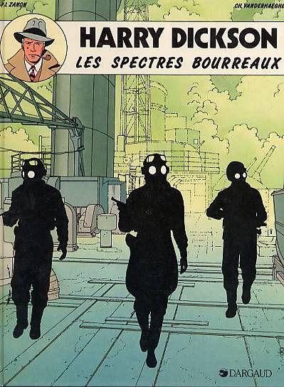 Harry Dickson 2 Les Spectres Bourreaux 1988 Spectres Bande Dessinee Planche Bd