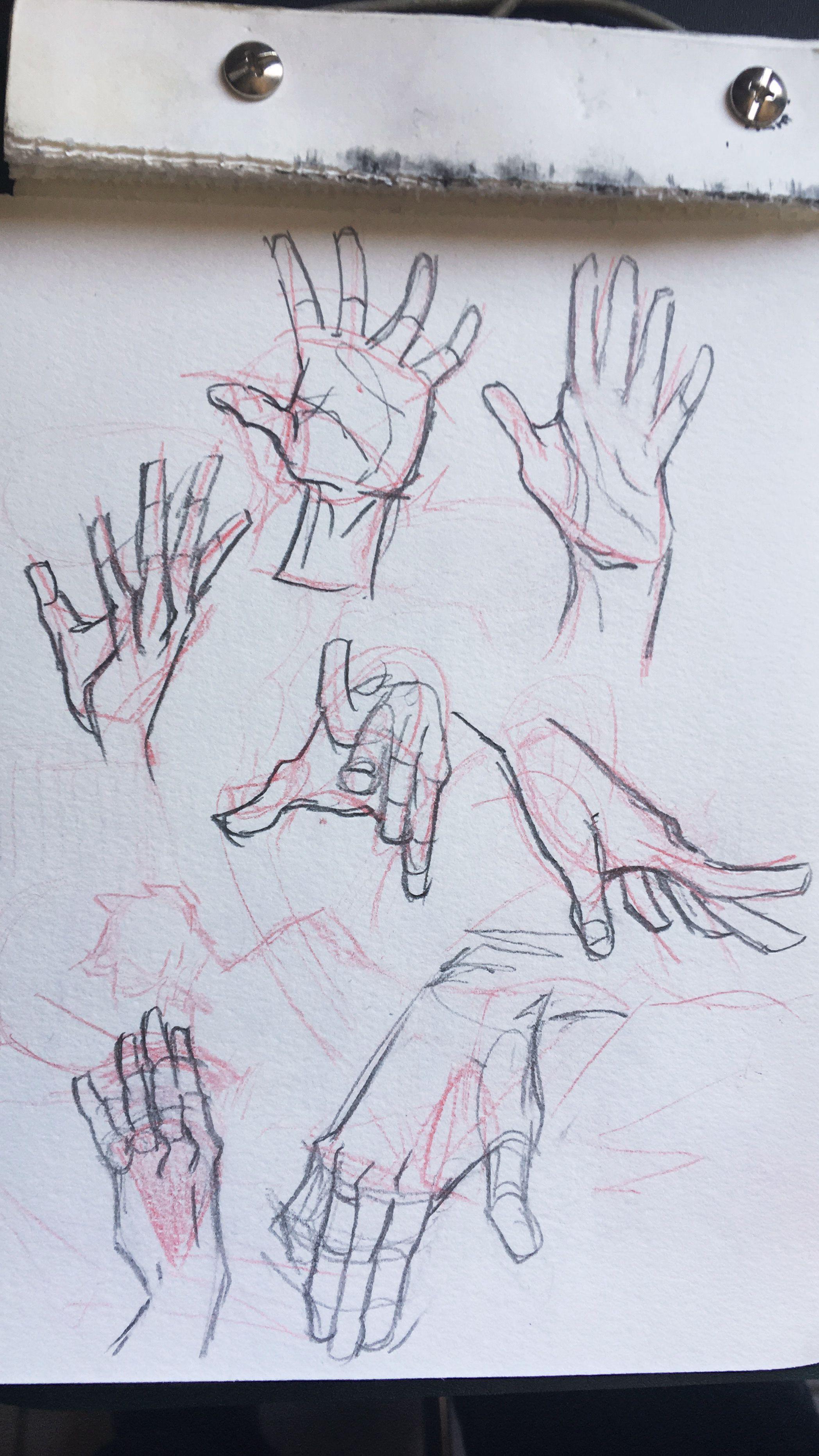 Estudo de mãos | Inspirarte | Anatomia | Pinterest | Anatomía ...