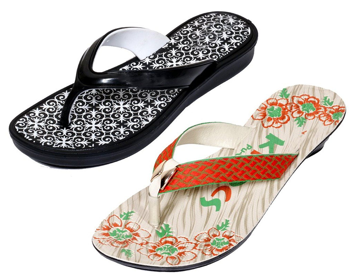 8cc670d2657f Indistar Women s Krocs Flip Flop (Pack Of 2 Pairs)     You can get  additional details at the image link.