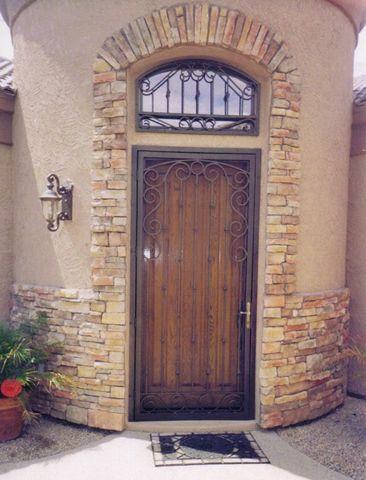 craftsman stytle security screen doors google search