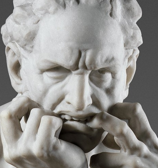 Jean-Baptiste Carpeaux, Ugolino and His Sons (details), 1865-1867