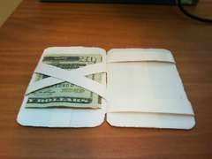 magic wallet, made of duct tape
