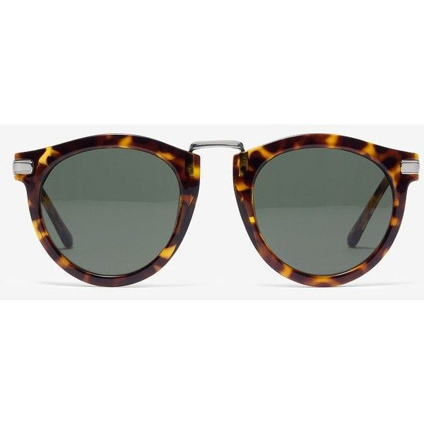 Kate Spade Saturday Combo Sunnies ($50) ❤ liked on Polyvore featuring accessories, eyewear, sunglasses, tortoise, kate spade eyewear, uv protection glasses, kate spade, tortoiseshell sunglasses and tortoiseshell glasses