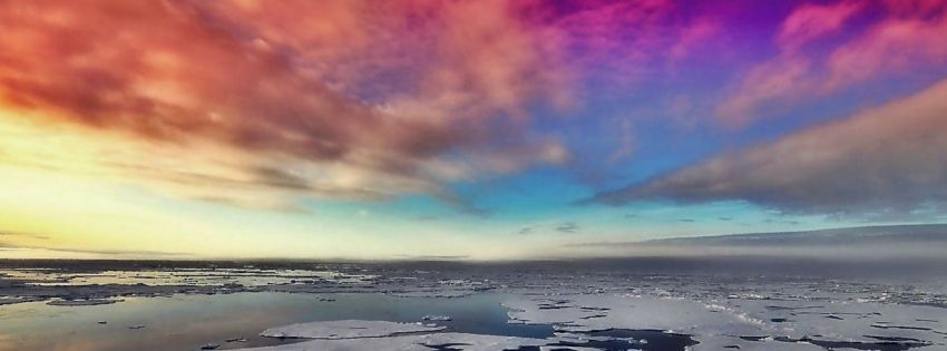 Get This Rainbow Skies Facebook Covers For Your Profile From Get