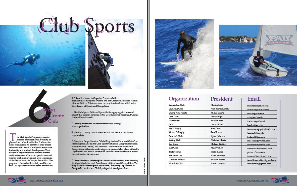best sports magazine spreads - Google Search