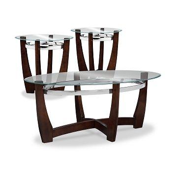 American Signature Furniture  Alcove Occasional Tables 3Pack Delectable American Signature Dining Room Sets Inspiration Design