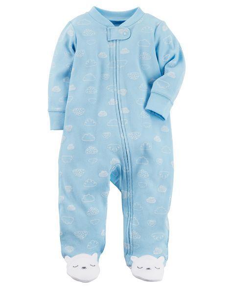 96c0f605b7 Bear Zip-Up Cotton Sleep   Play