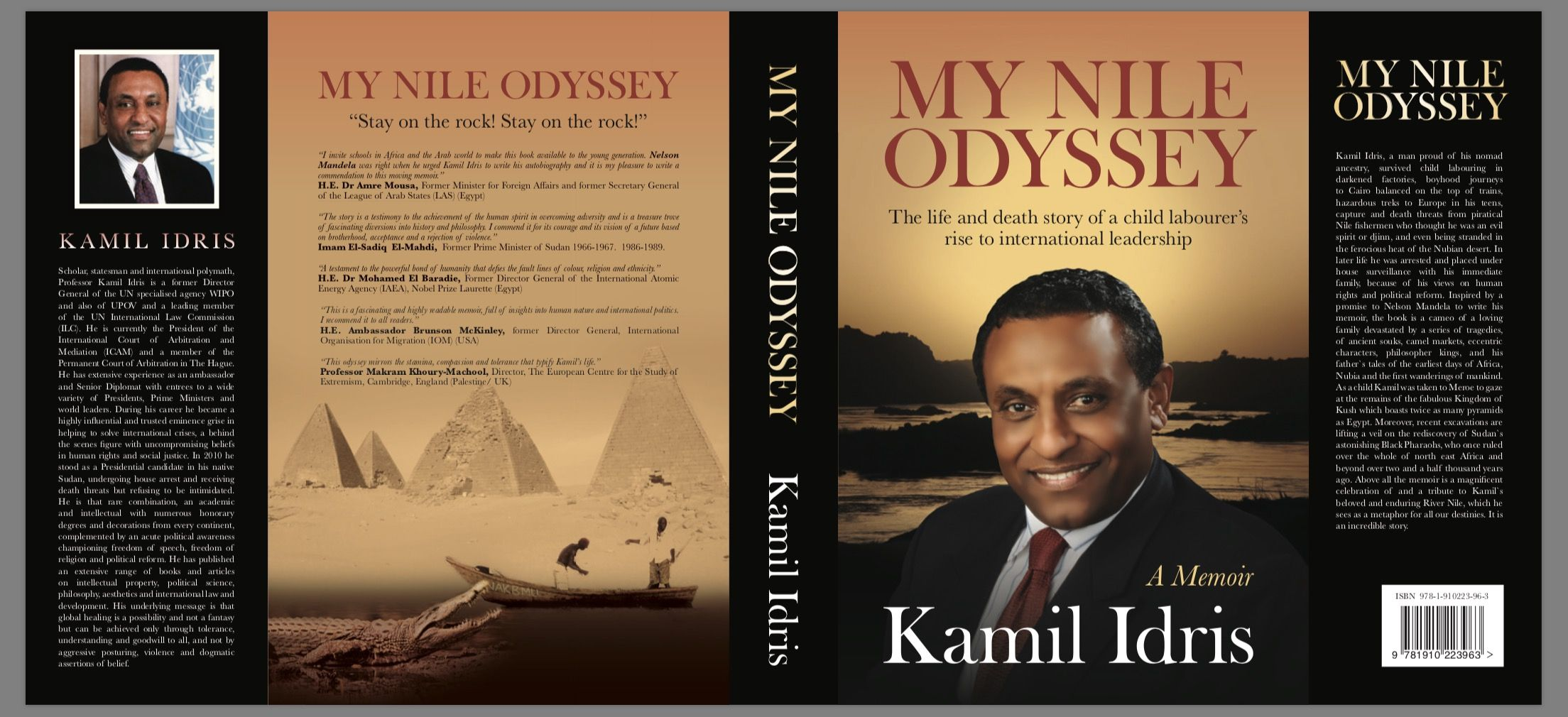 Former Director General of the World Intellectual Property Organisation (WIPO) and former presidential candidate in Sudan releases new book.