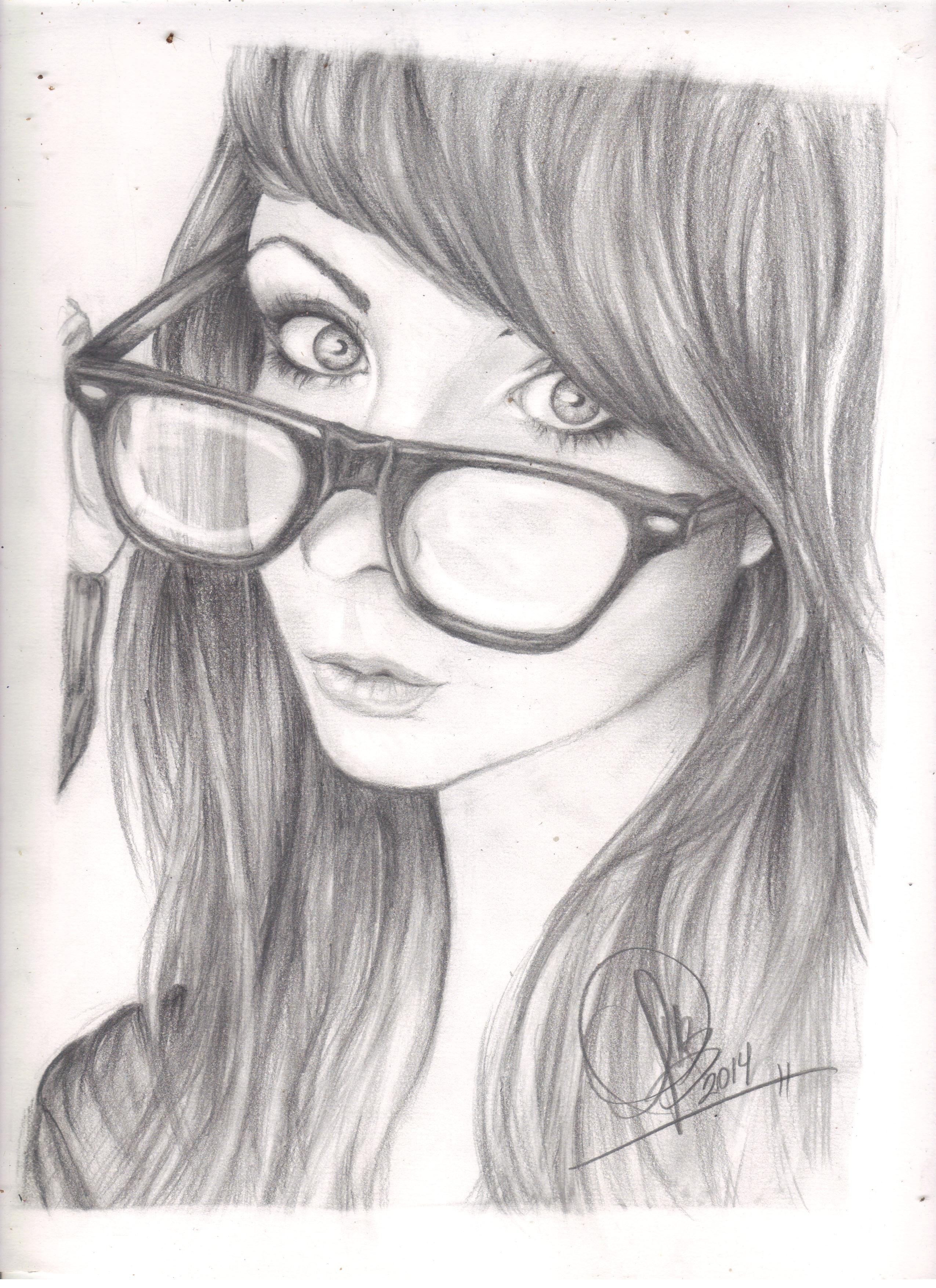 """""""Geek Girl"""" Bueno el retrato de una Chica Geek haciendo un #Selfie ;)"""