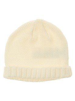 Complementos - Gorro de punto tricotado - Kiabi
