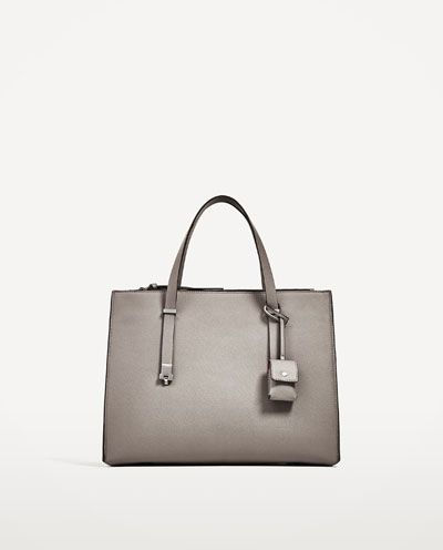 3a8b38a4b656 Image 2 of CITY BAG WITH PENDANT from Zara Boutique Zara