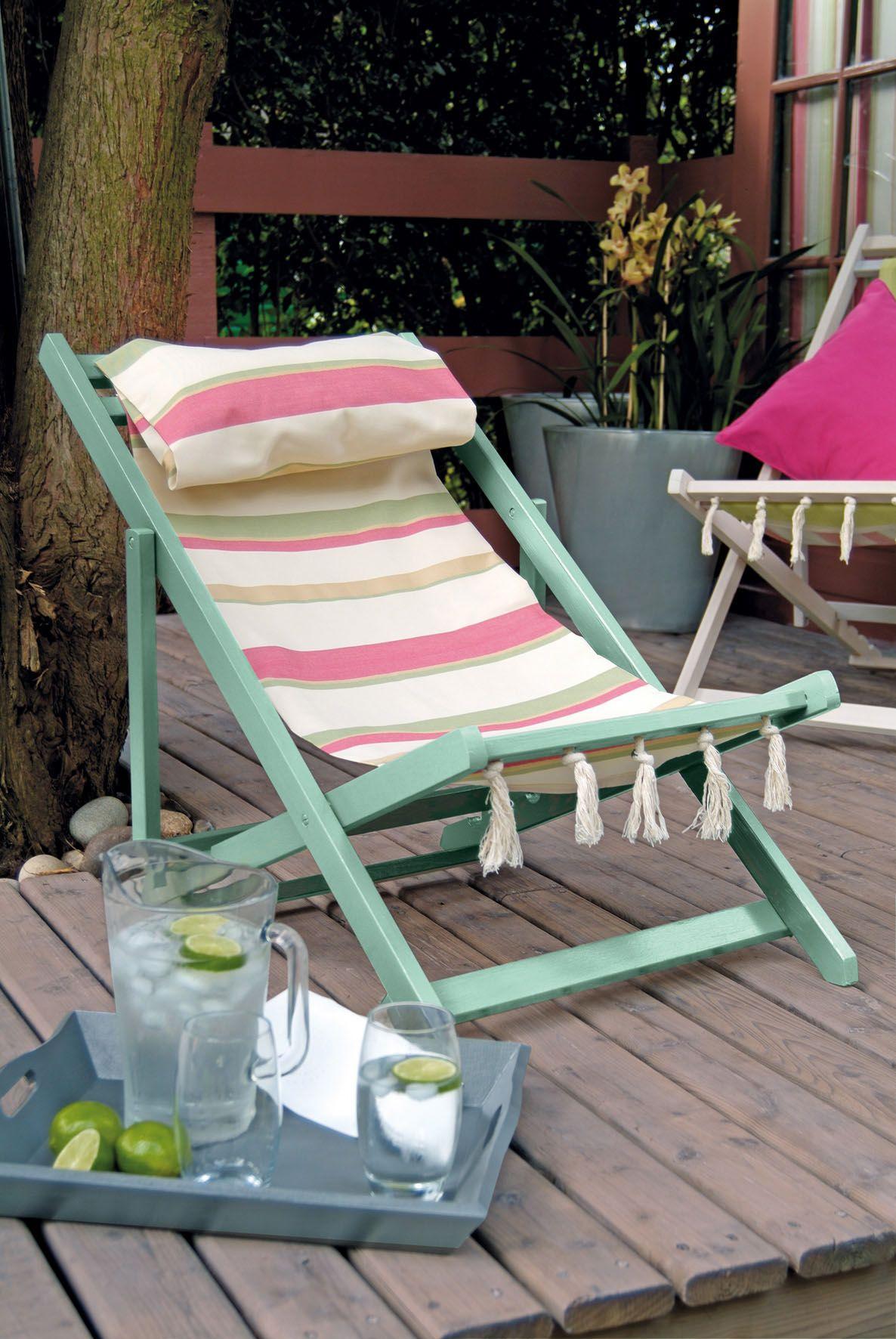 Deckchair Featuring Harry S Deck Chair From The My Garden Range