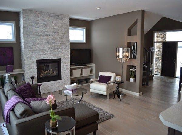 Conceptions salons avec carrelage en bois d coration for Salon bien decore