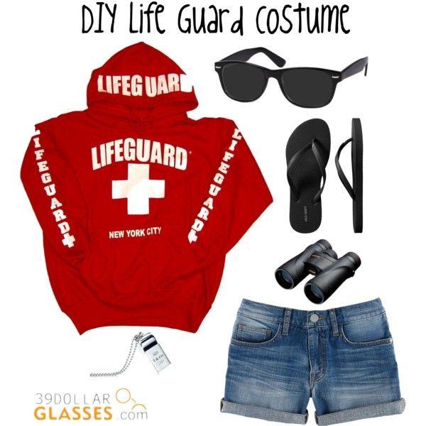 DIY Life Guard Costume | Costumes, Diy halloween costumes ...