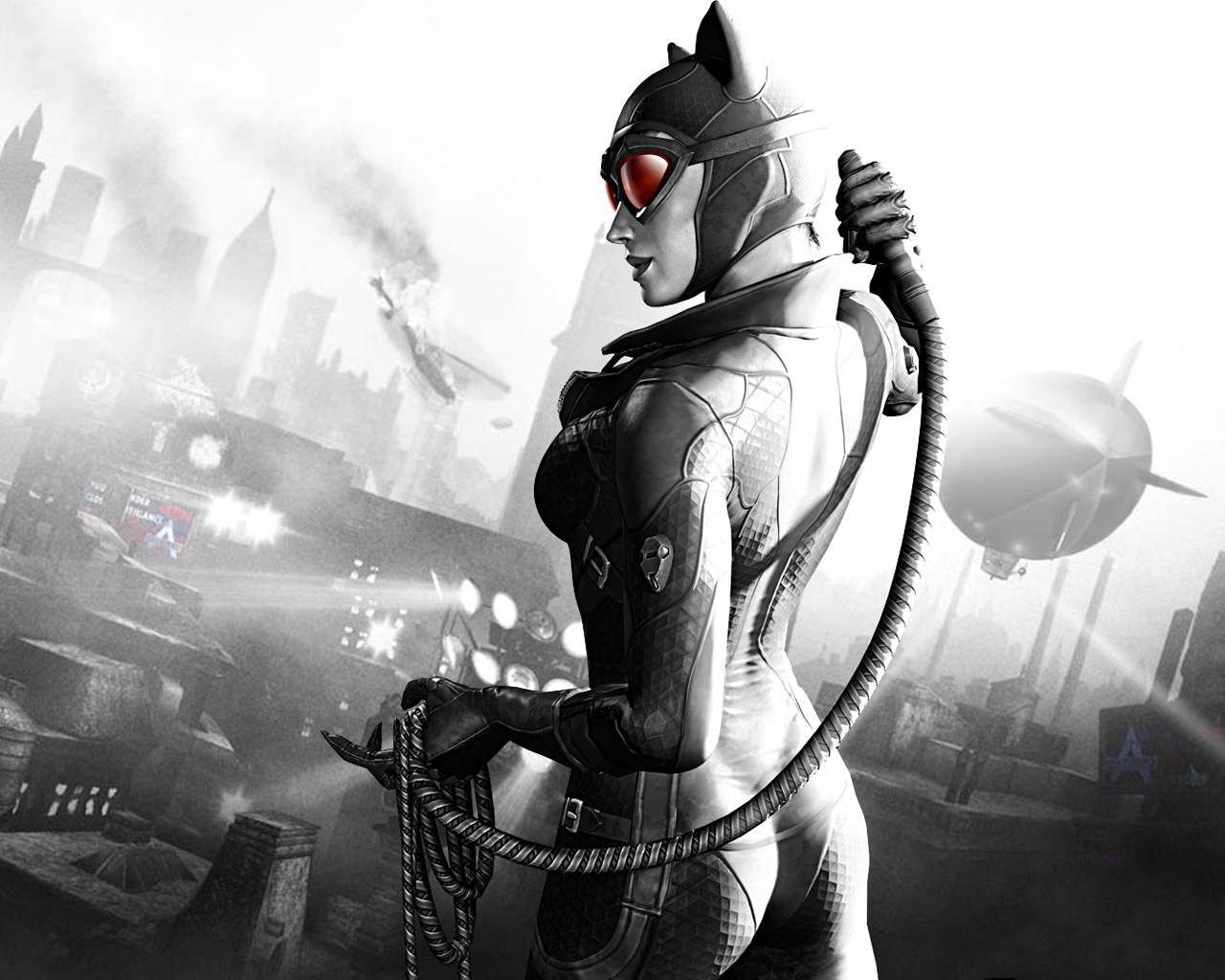 Batman: Arkham Origins catwoman Desktop wallpapers 1600x1200