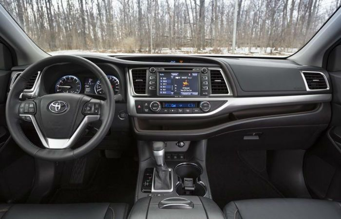 2017 toyota highlander limited interior. Black Bedroom Furniture Sets. Home Design Ideas
