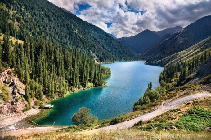 The Beautiful Aksu Zhabagly Nature Reserve In Western Kazakhstan Is A Unesco Biosphere Reserve