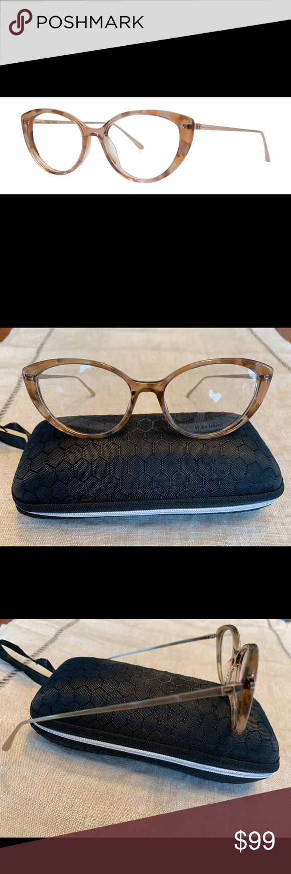 Eyeglasses Vera Wang V 391 GUNMETAL HORN