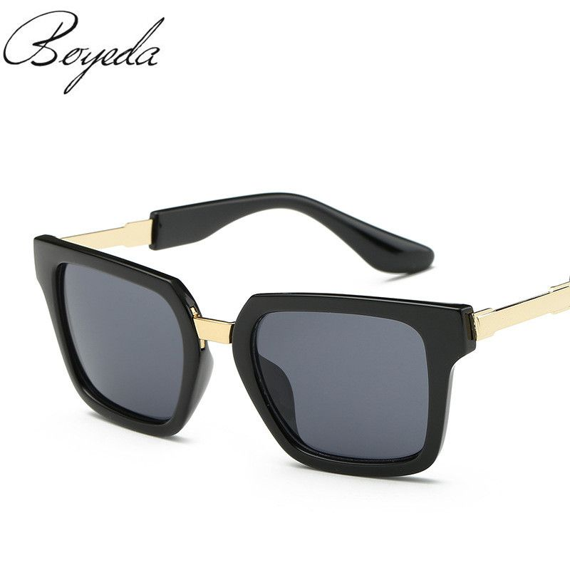 8f4d01bc6bd Brand Fshion Lens Sunglasses Men Sport Mirror Driving Sun Glasses Outdoor  Glasses Square Goggle Eyewear UV400 oculos de sol