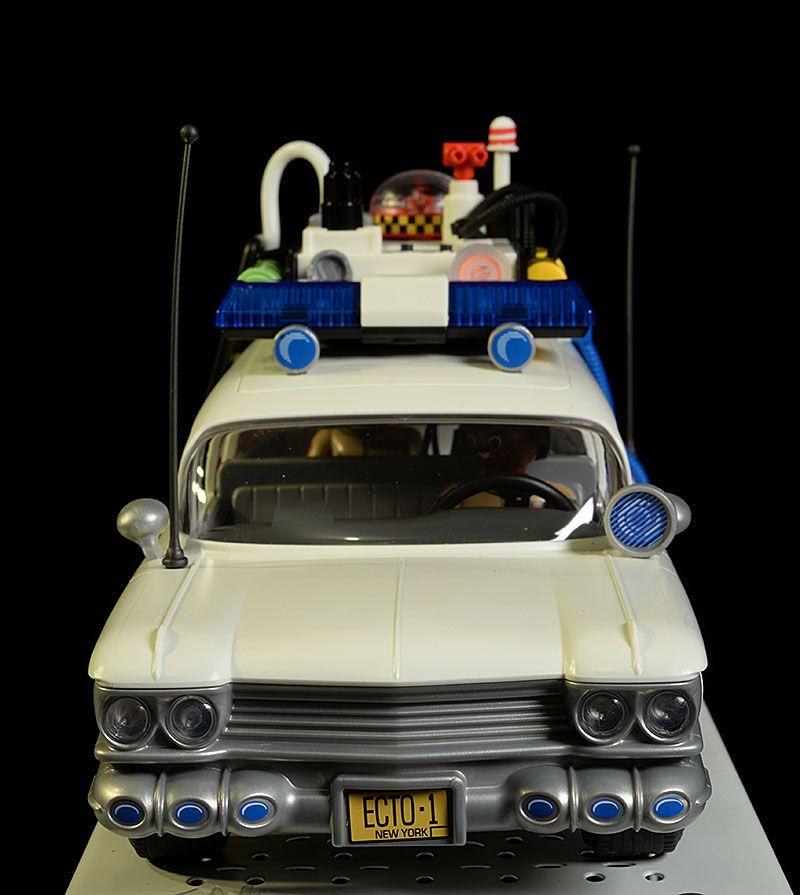 playmobil ghostbusters zeddemore janine ecto 1 action figures. Black Bedroom Furniture Sets. Home Design Ideas
