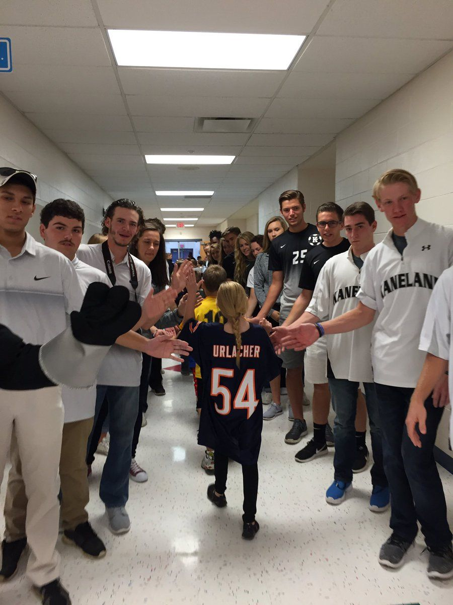 Blackberry Creek Elementary pep rally and jersey day