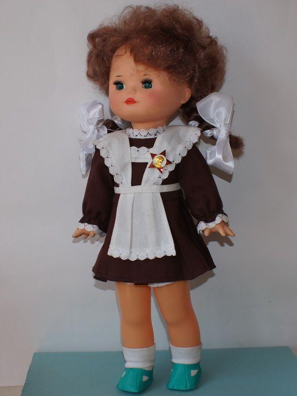 советские картинки с куклами этом городе