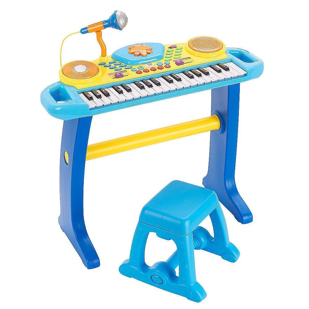 Bruin Keyboard Mit Hocker Blau Toys R Us Toys Quot R