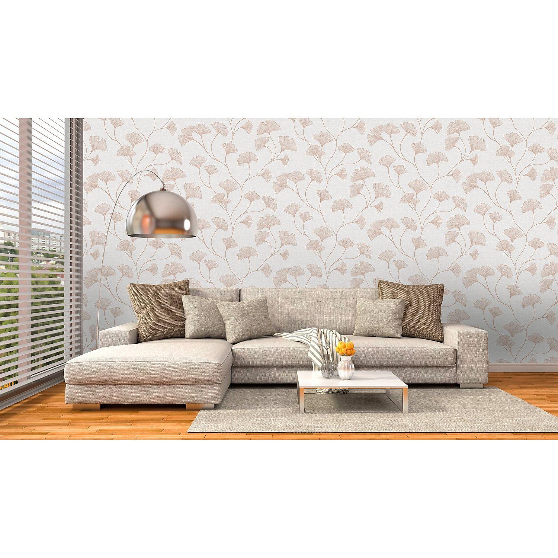 Statement Haruna Grey Floral Metallic Effect Wallpaper Decor Diy Wallpaper Bedroom Diy