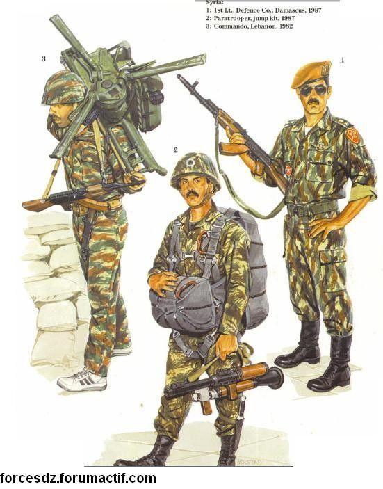Syrian army uniform 2