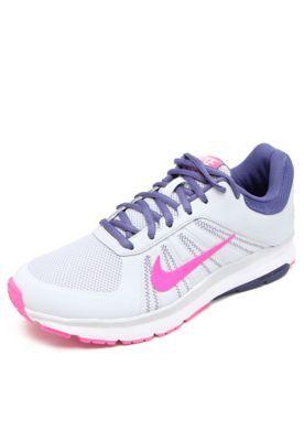 4581136f581 Tênis Nike Wmns Dart 12 Msl Cinza Rosa