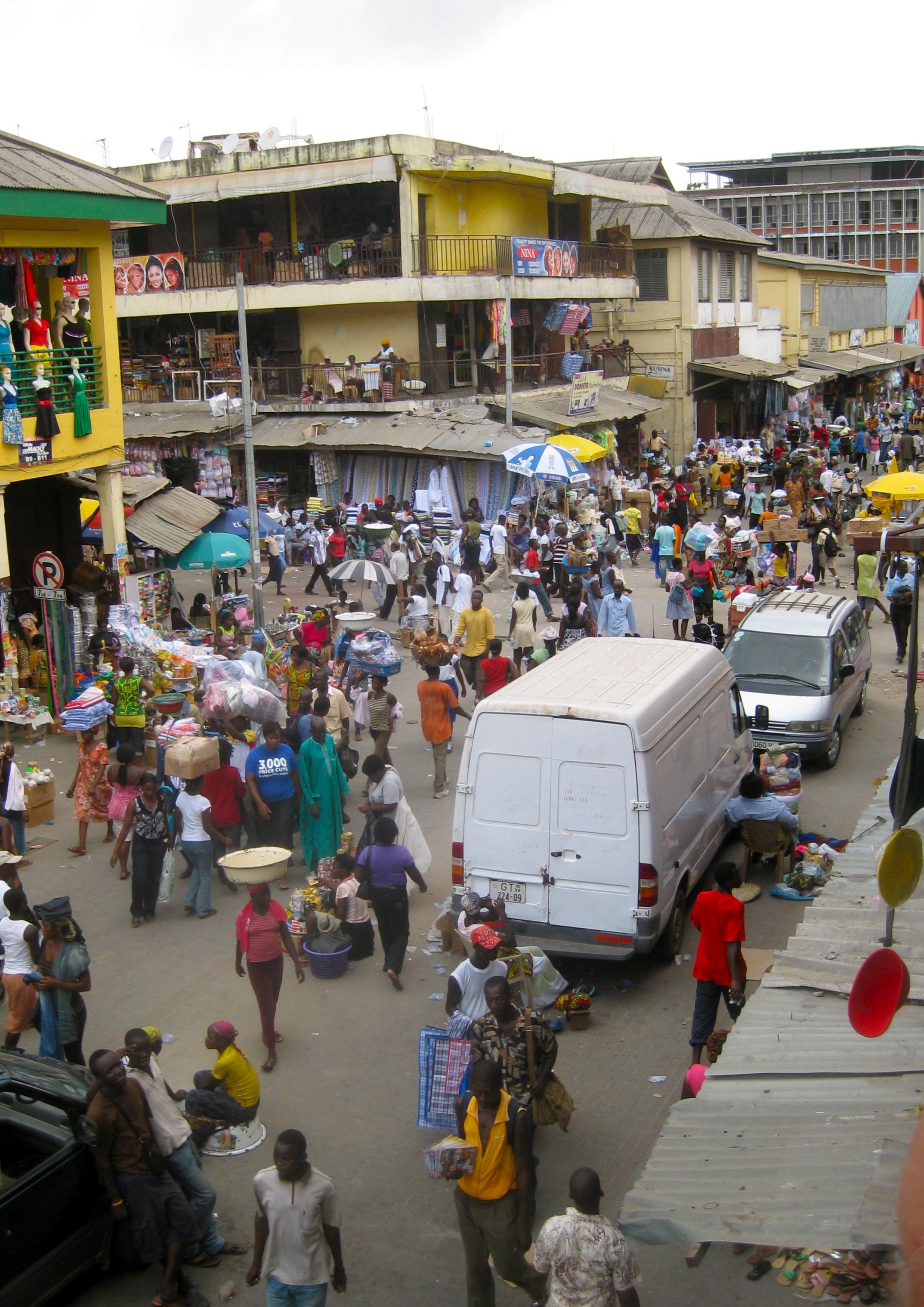 Makola Market in Accra, Ghana | Favorite Places I've Been