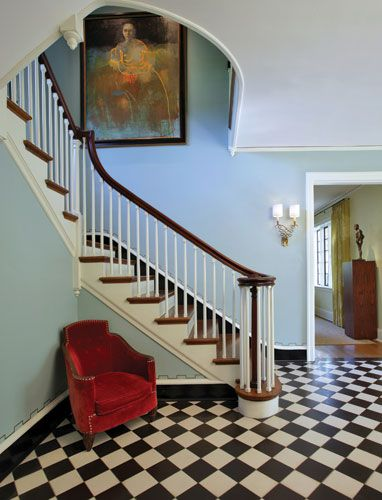 I'm currently obsessed with foyers.