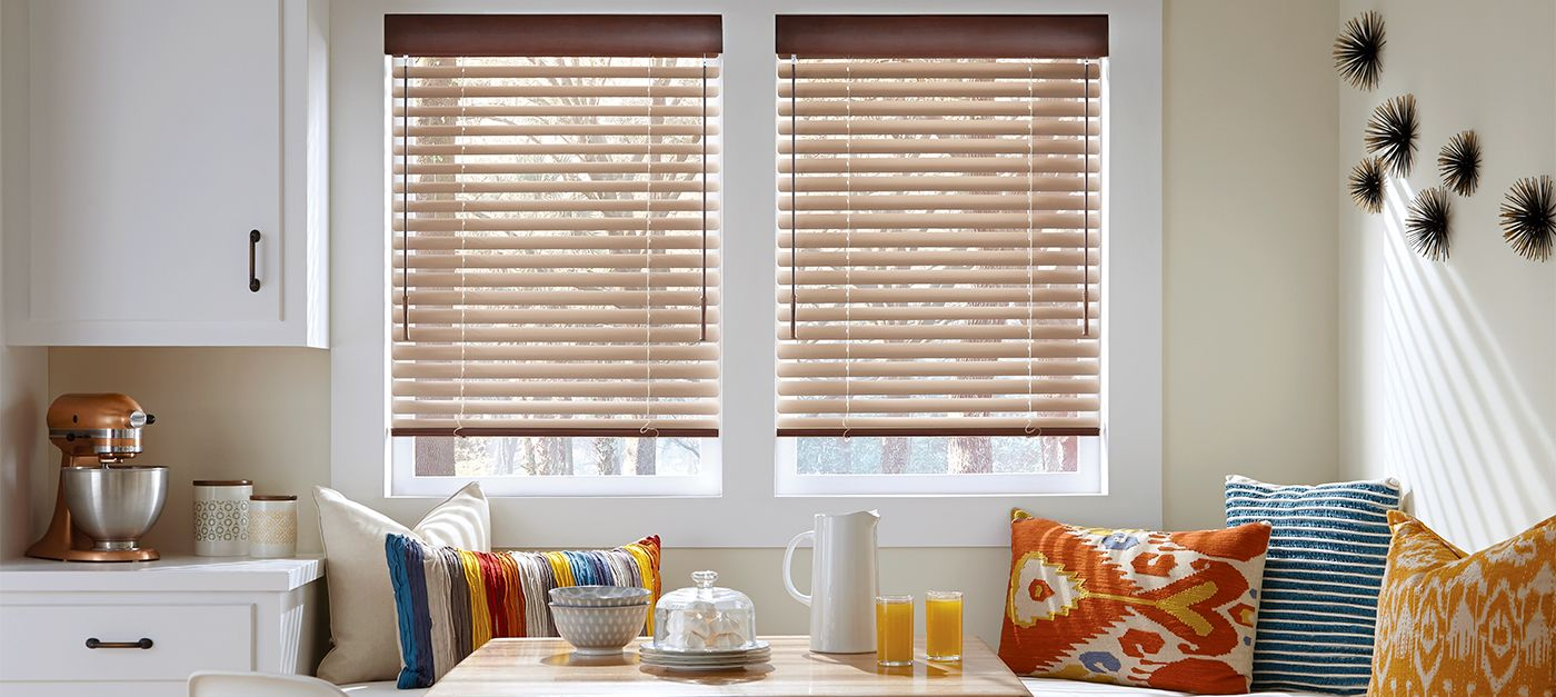 hunter waters decor brown blinds showroom treatments douglas window products home
