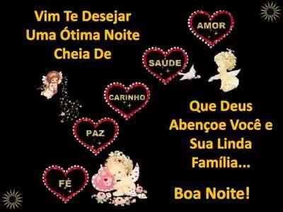Boa Noite Que Deus Abençoe Você E Sua Família Até Amanhãlindos