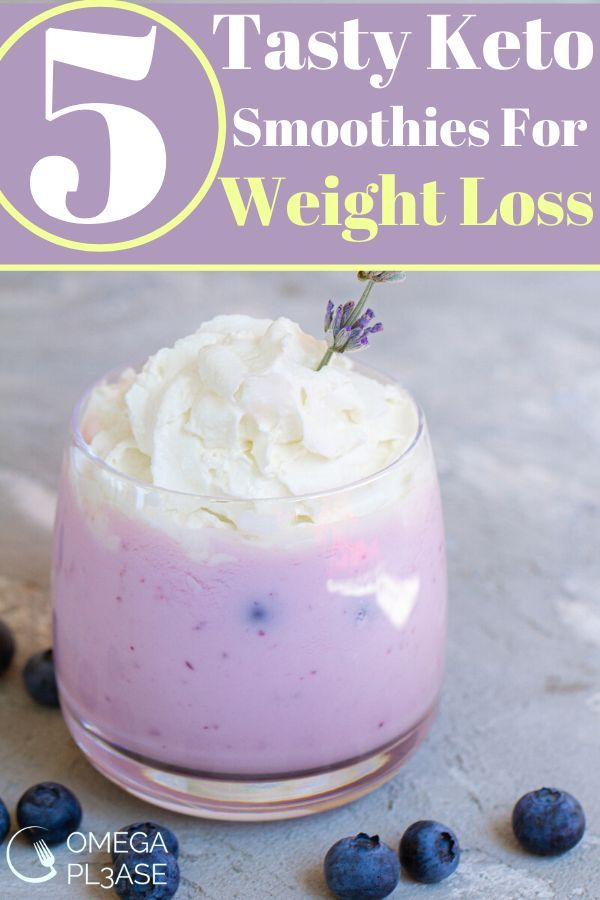 5 Tasty Keto Smoothies Perfect for Weight Loss