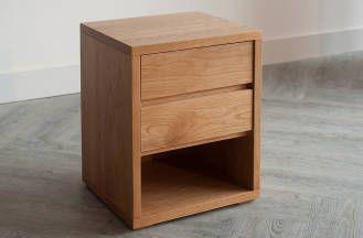 Best Black Lotus Cube 2 Drawer Bedside 가구 사이드 테이블 서랍장 400 x 300