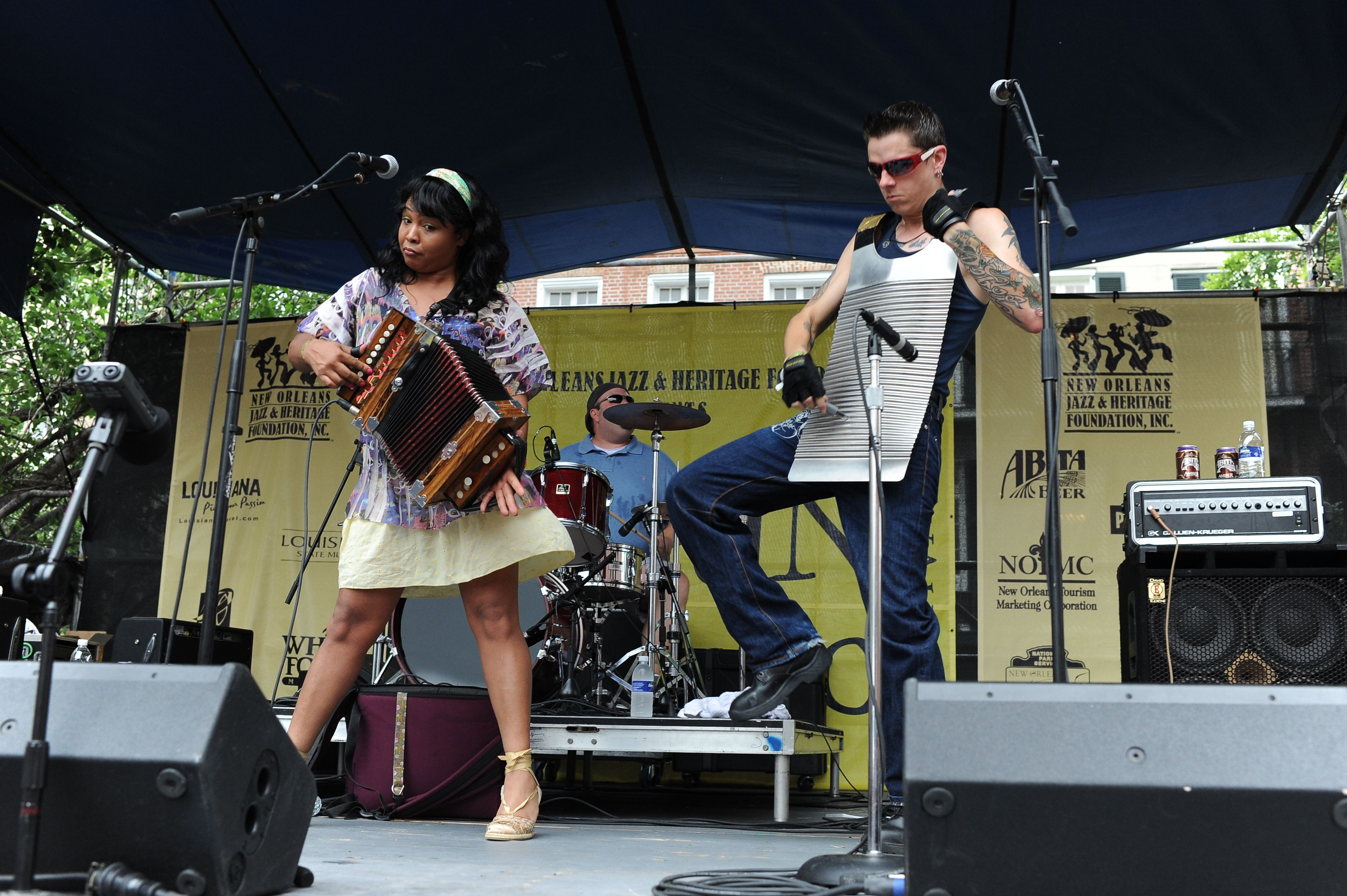 Two-step to the Louisiana Cajun Zydeco Festival June 18 and 19!