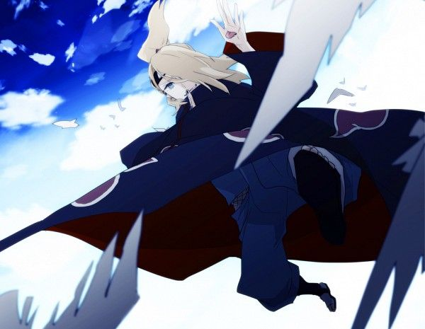 Deidara 906901 Zerochan Akatsuki Anime Anime Images