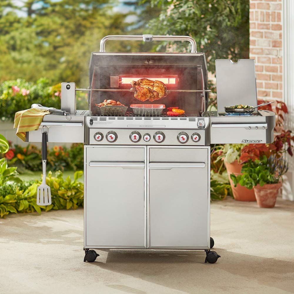 Weber Summit S 470 Gas Grill Gas Grill Best Gas Grills Gas Grill Reviews