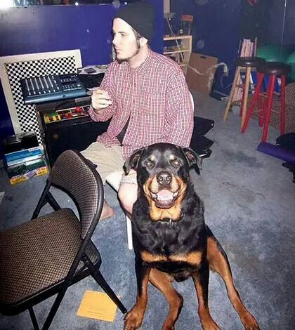 Phil Anselmo And His Dog Dogs Rottie Pantera