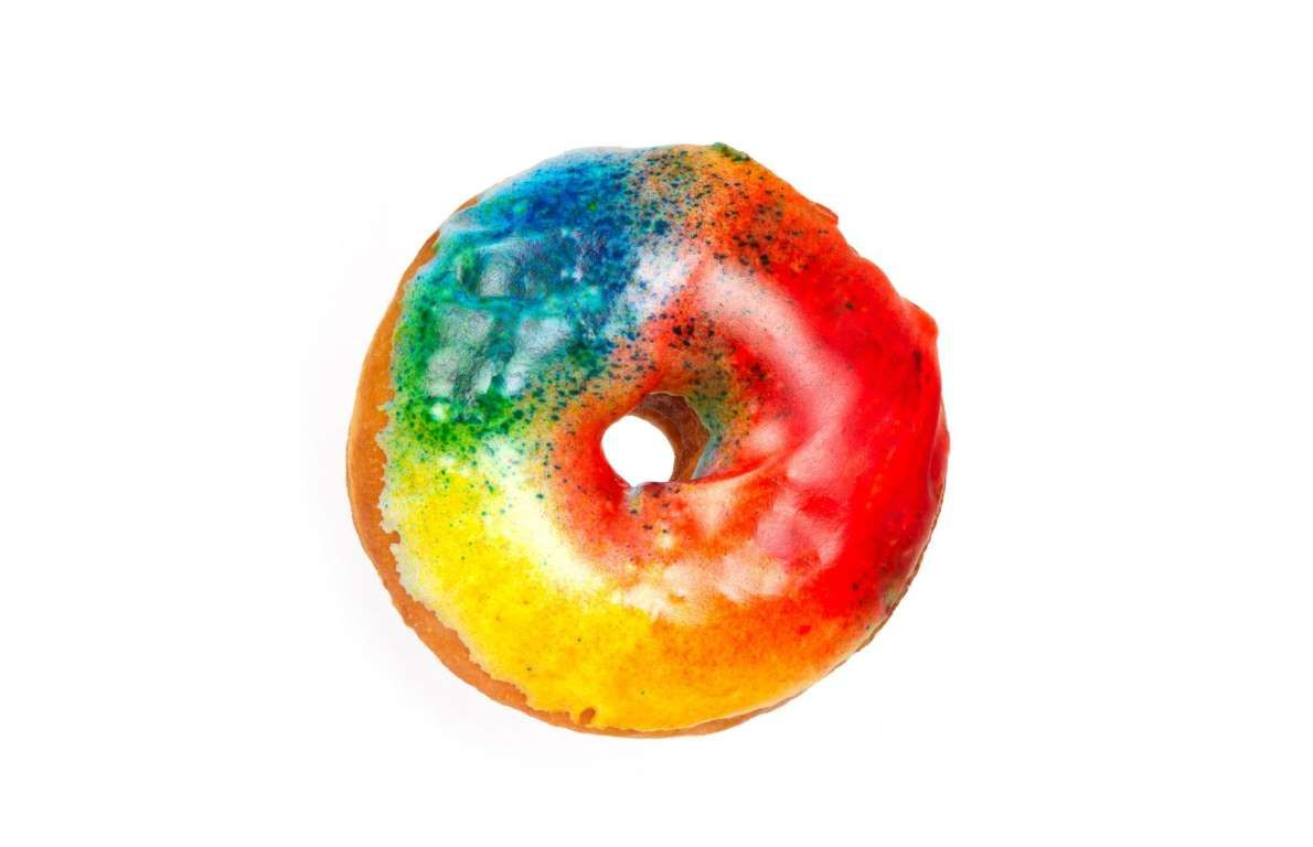 Donuts are even sweeter when they come in a host of colors. - Bryan Solomon/Shutterstock