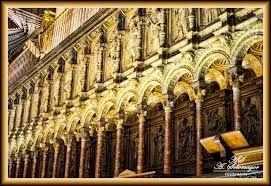 1535 1544 Sillería Y Coro De La Catedral De Toledo Esta Magnífica Obra Fue Realizada Por Varios Artistas Como Diego De S Catedral Renacimiento Español Toledo
