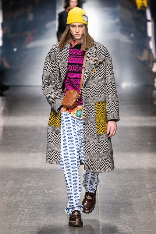 Versace Fall 2019 Menswear Collection Review